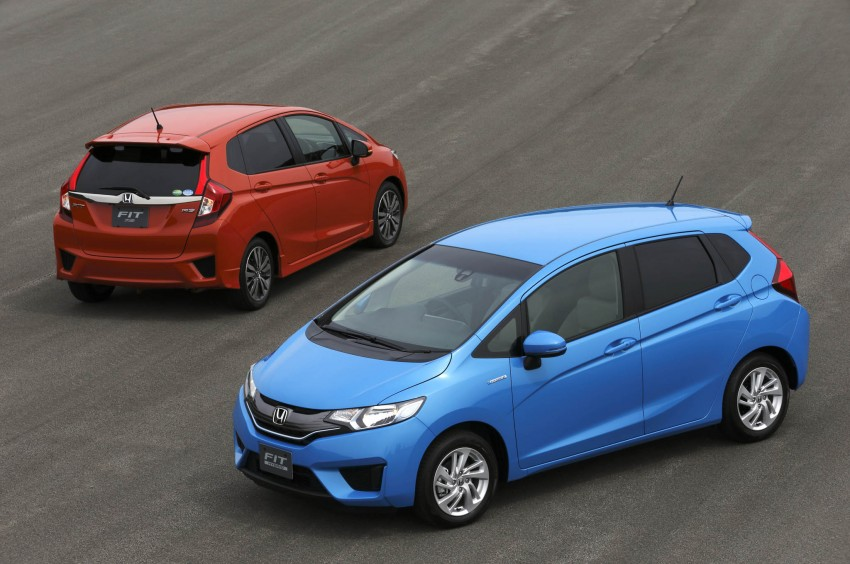 Third-gen Honda Jazz debuts; first details and pictures Image #188377
