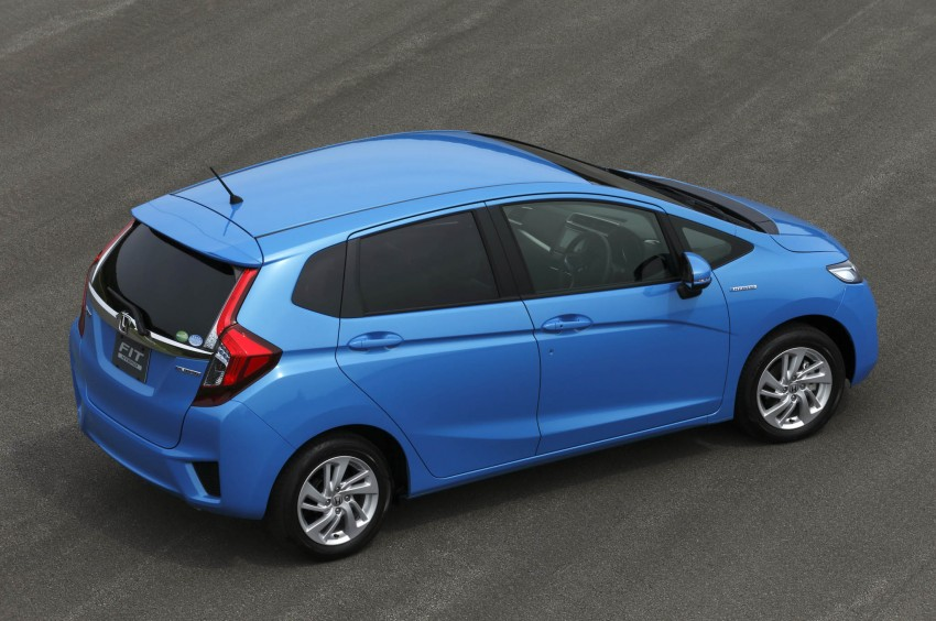 Third-gen Honda Jazz debuts; first details and pictures Image #188378