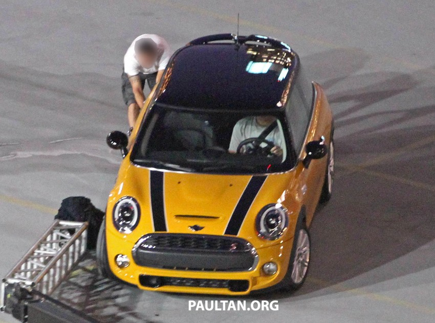F56 MINI hatchback fully revealed without disguise Image #184445