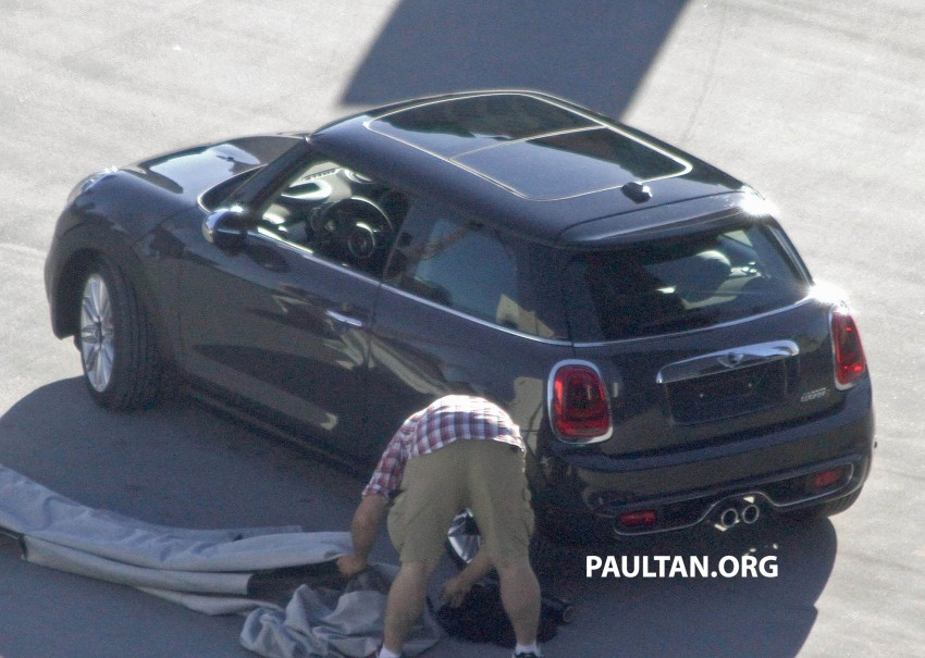 F56 MINI hatchback fully revealed without disguise Image #184446