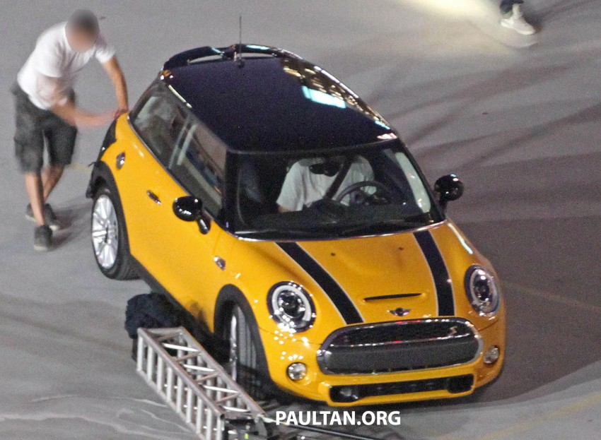F56 MINI hatchback fully revealed without disguise Image #184447