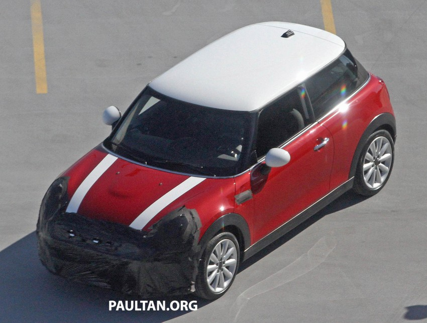 F56 MINI hatchback fully revealed without disguise Image #184448