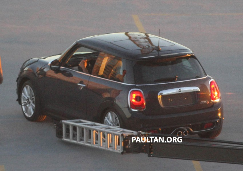 F56 MINI hatchback fully revealed without disguise Image #184449