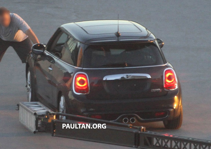 F56 MINI hatchback fully revealed without disguise Image #184451