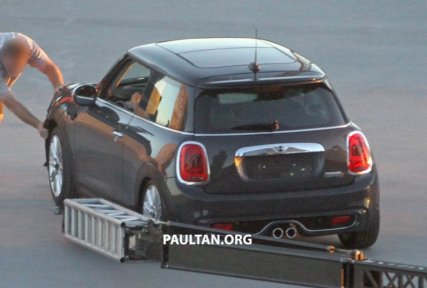F56 MINI hatchback fully revealed without disguise Image #184452