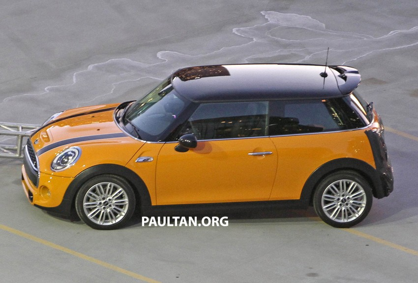 F56 MINI hatchback fully revealed without disguise Image #184453