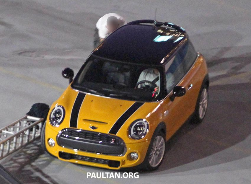 F56 MINI hatchback fully revealed without disguise Image #184454