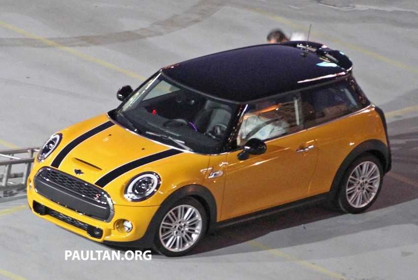 F56 MINI hatchback fully revealed without disguise Image #184455