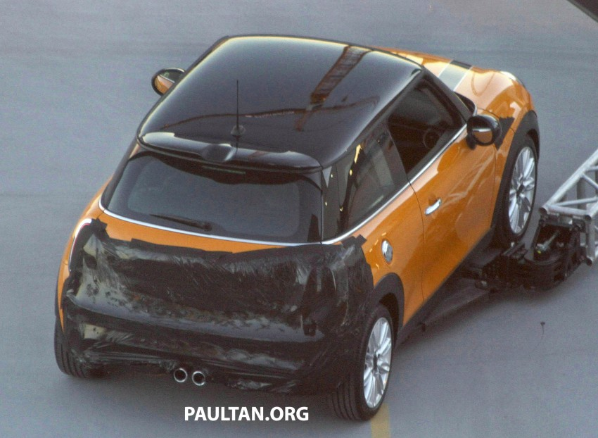 F56 MINI hatchback fully revealed without disguise Image #184456