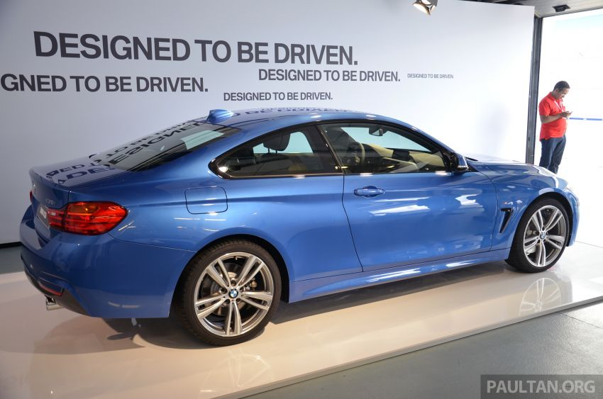 GALLERY: BMW 4 Series M Sport in Estoril Blue Image #190194