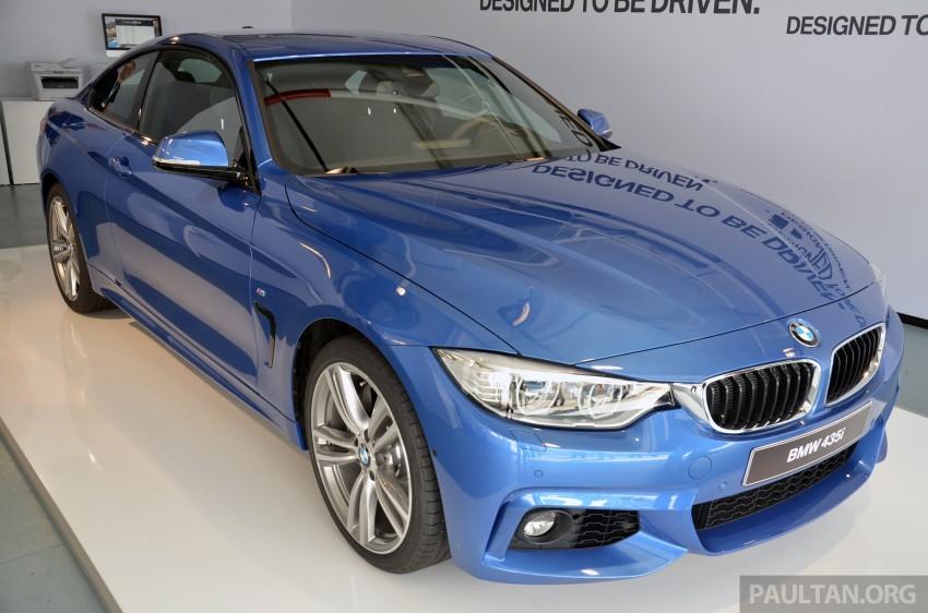 GALLERY: BMW 4 Series M Sport in Estoril Blue Image #190185