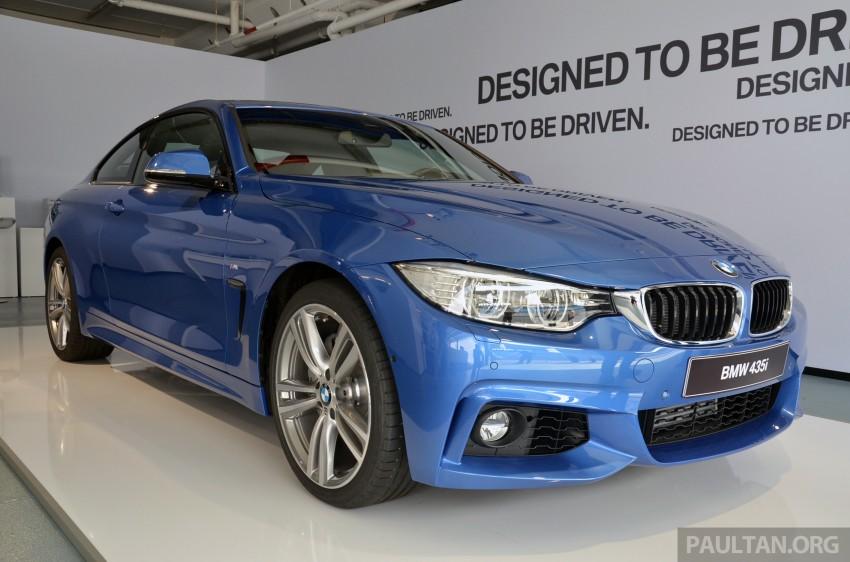 GALLERY: BMW 4 Series M Sport in Estoril Blue Image #190186