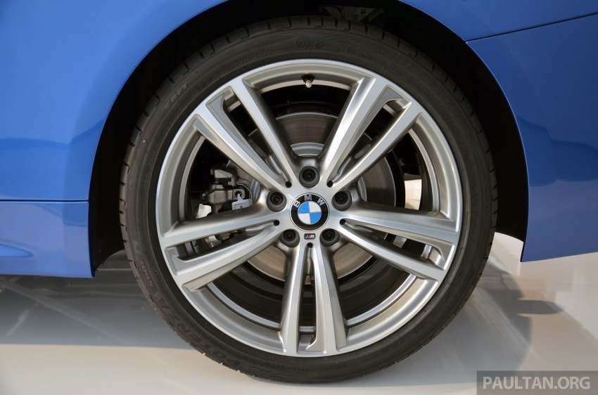 GALLERY: BMW 4 Series M Sport in Estoril Blue Image #190191