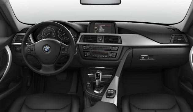 BMW 316i Interior