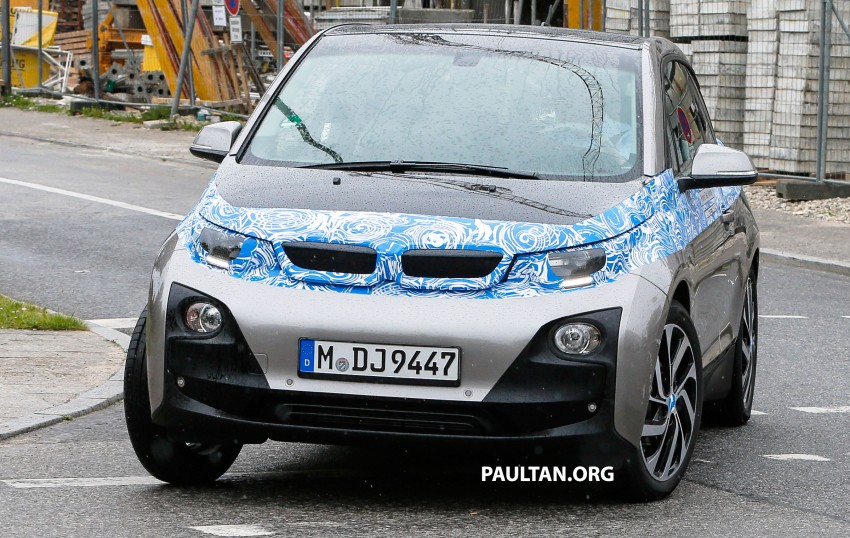 BMW i3 production car spied, most revealing pix yet Image #185180