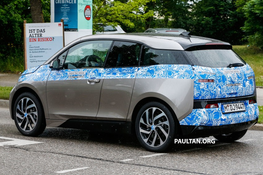 BMW i3 production car spied, most revealing pix yet Image #185176