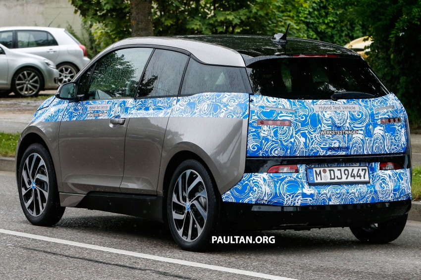 BMW i3 production car spied, most revealing pix yet Image #185177
