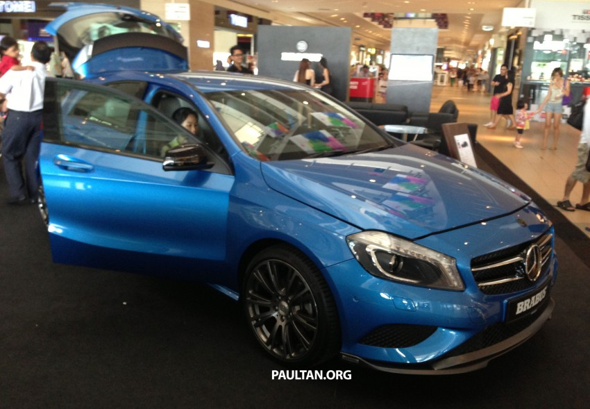 Brabus A-Class now available – A200 for RM218,888 Image #185620