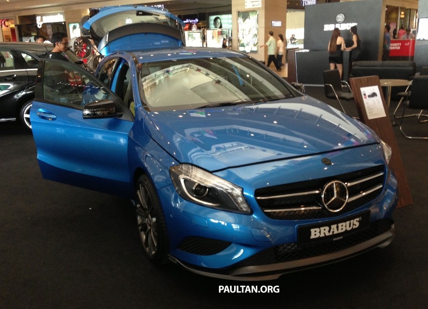 Brabus A-Class now available – A200 for RM218,888 Image #185621
