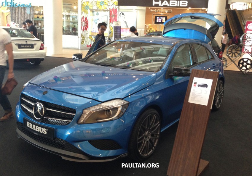 Brabus A-Class now available – A200 for RM218,888 Image #185623