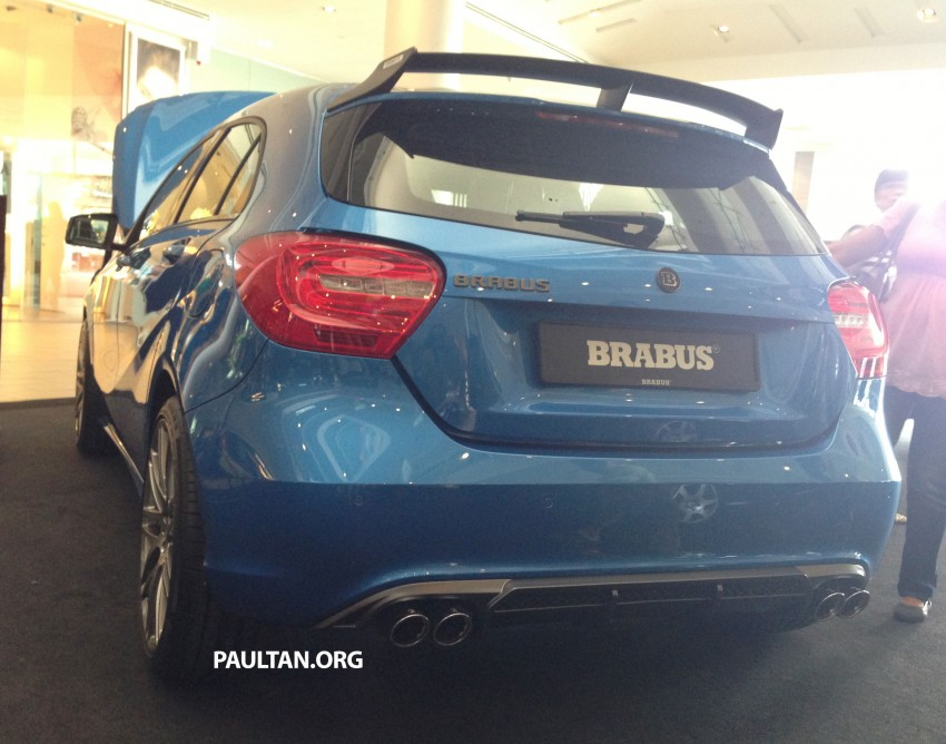 Brabus A-Class now available – A200 for RM218,888 Image #185628
