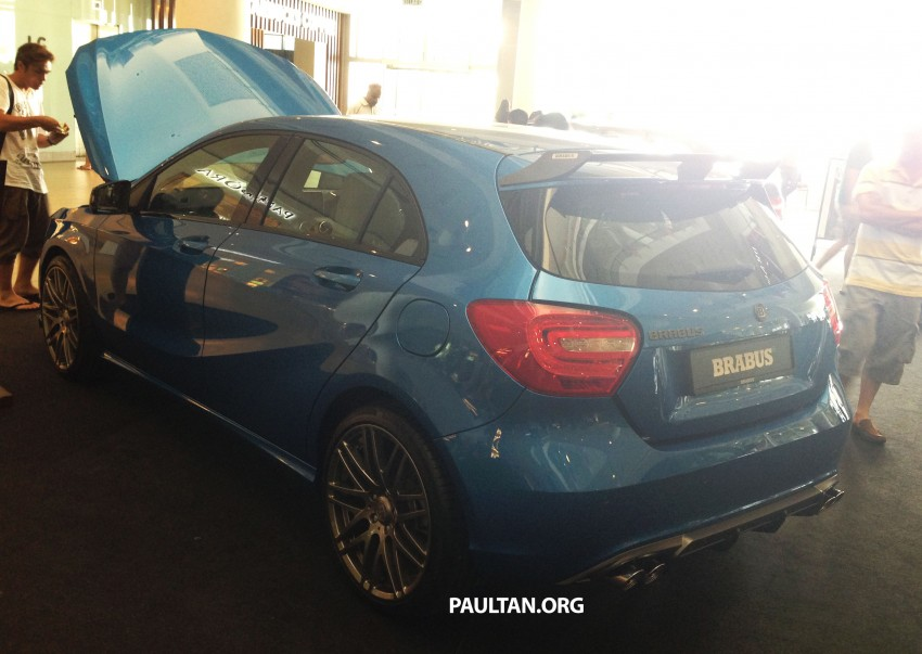 Brabus A-Class now available – A200 for RM218,888 Image #185629