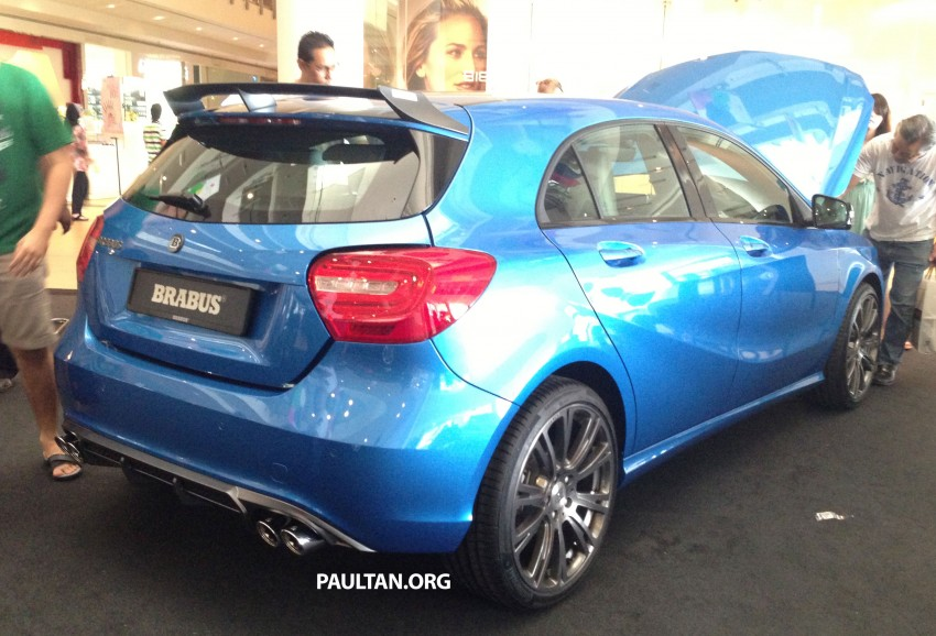 Brabus A-Class now available – A200 for RM218,888 Image #185634