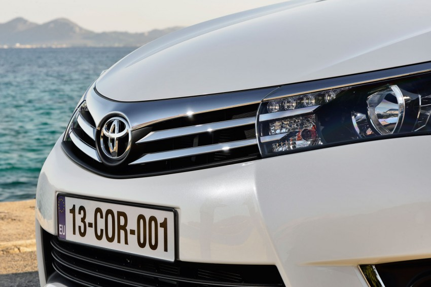 2014 Toyota Corolla – European production starts in Turkey, new batch of images released Image #185796