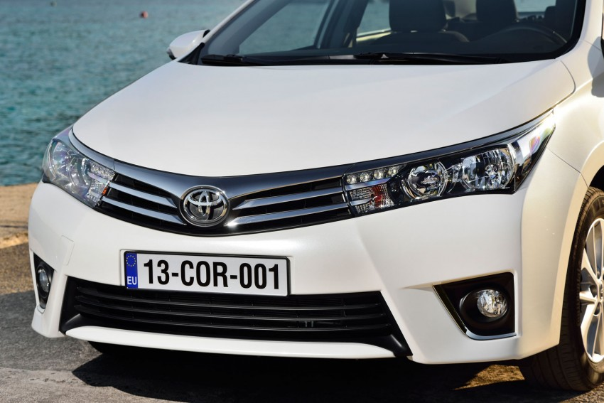 2014 Toyota Corolla – European production starts in Turkey, new batch of images released Image #185798