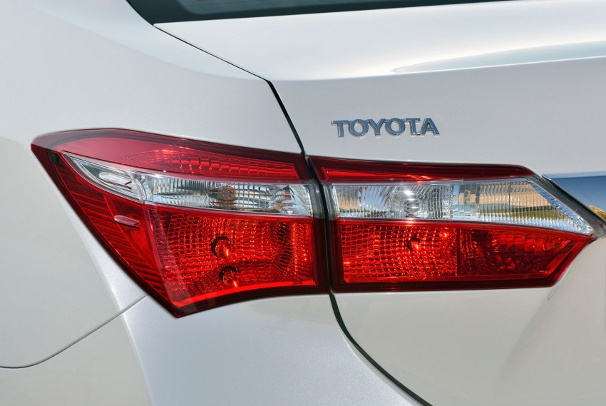 2014 Toyota Corolla – European production starts in Turkey, new batch of images released Image #185800