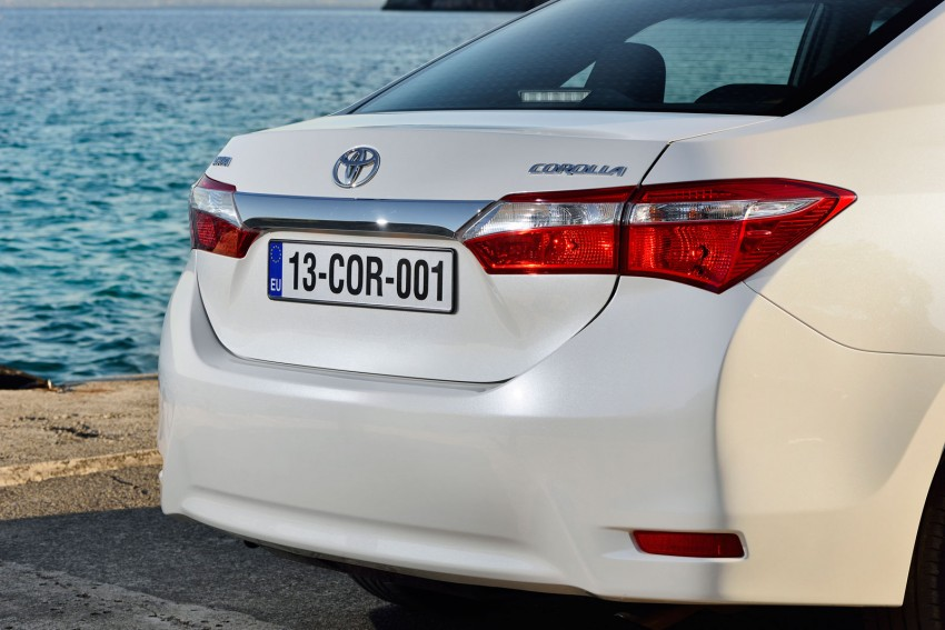 2014 Toyota Corolla – European production starts in Turkey, new batch of images released Image #185801