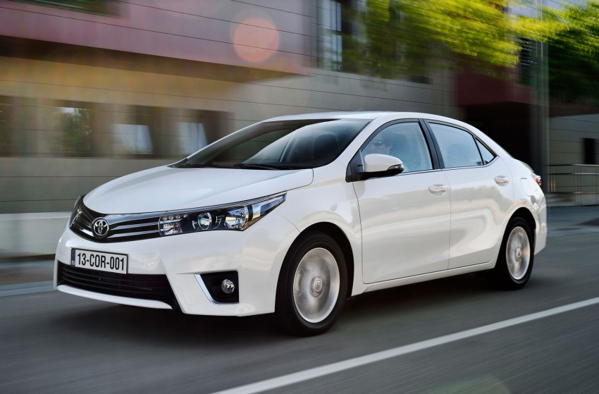 2014 Toyota Corolla – European production starts in Turkey, new batch of images released Image #185803