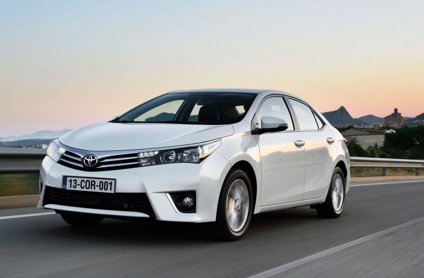 2014 Toyota Corolla – European production starts in Turkey, new batch of images released Image #185804