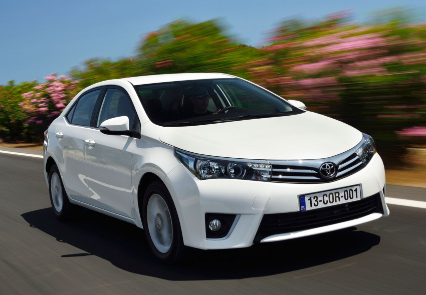 2014 Toyota Corolla – European production starts in Turkey, new batch of images released Image #185805