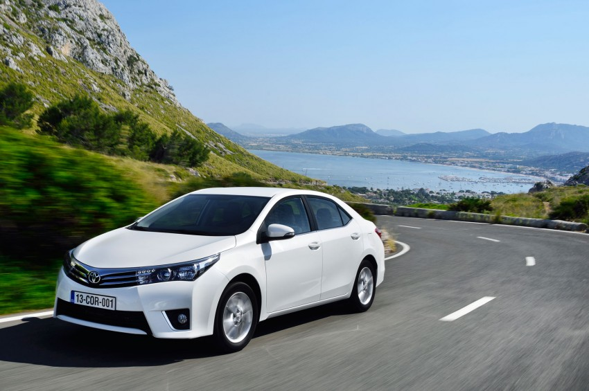 2014 Toyota Corolla – European production starts in Turkey, new batch of images released Image #185807