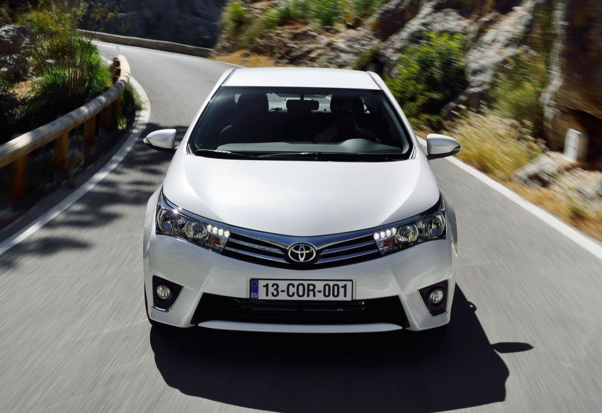 2014 Toyota Corolla – European production starts in Turkey, new batch of images released Image #185809