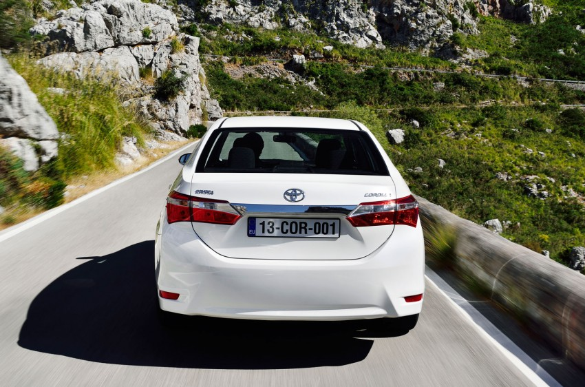 2014 Toyota Corolla – European production starts in Turkey, new batch of images released Image #185810