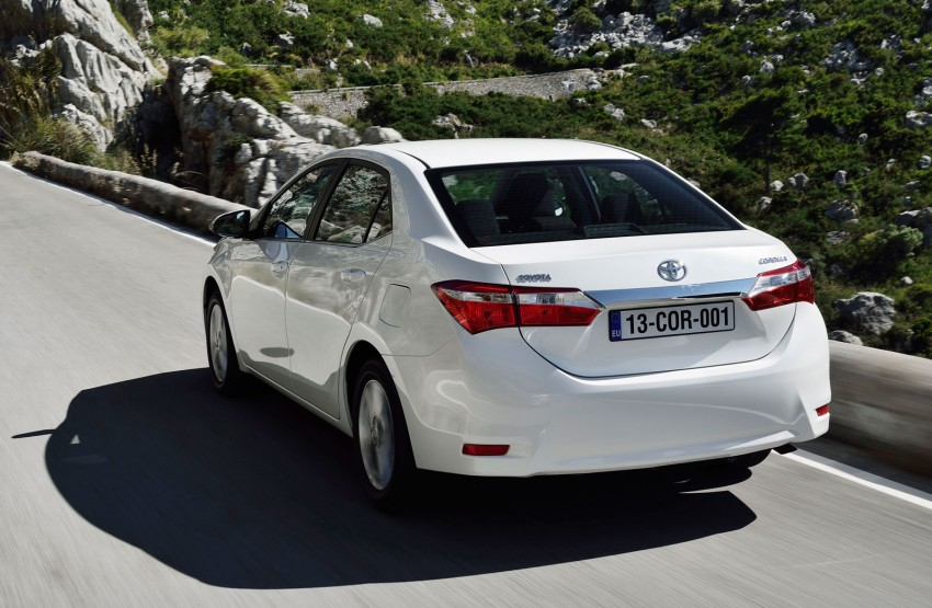 2014 Toyota Corolla – European production starts in Turkey, new batch of images released Image #185811