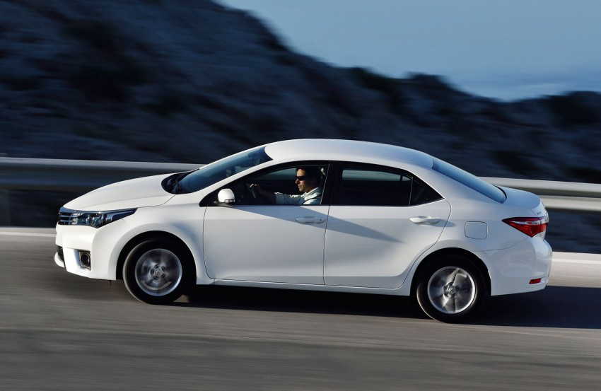 2014 Toyota Corolla – European production starts in Turkey, new batch of images released Image #185812