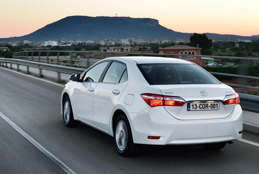 2014 Toyota Corolla – European production starts in Turkey, new batch of images released Image #185813