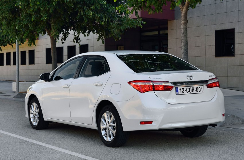 2014 Toyota Corolla – European production starts in Turkey, new batch of images released Image #185815