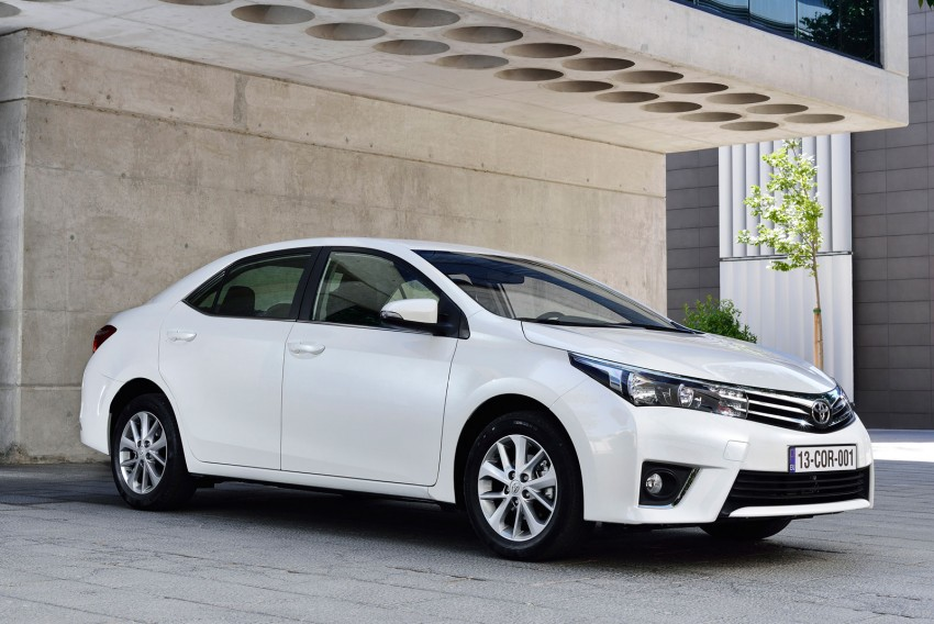 2014 Toyota Corolla – European production starts in Turkey, new batch of images released Image #185816