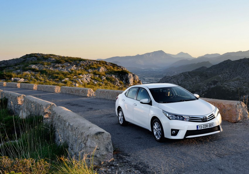 2014 Toyota Corolla – European production starts in Turkey, new batch of images released Image #185912