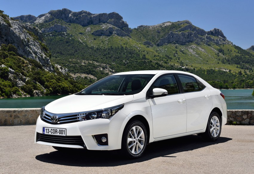 2014 Toyota Corolla – European production starts in Turkey, new batch of images released Image #185818