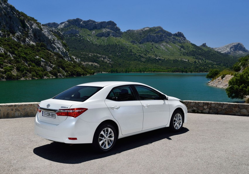 2014 Toyota Corolla – European production starts in Turkey, new batch of images released Image #185820