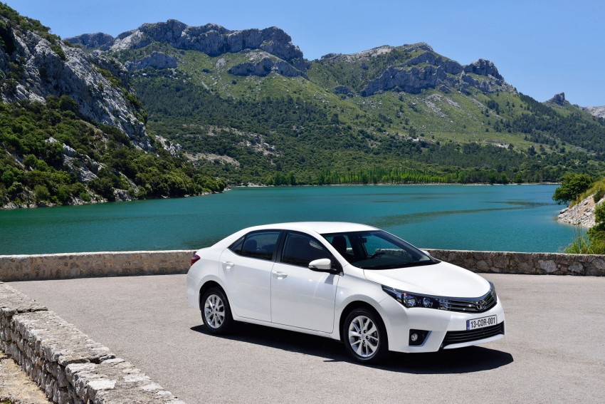 2014 Toyota Corolla – European production starts in Turkey, new batch of images released Image #185821