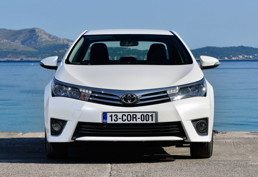 2014 Toyota Corolla – European production starts in Turkey, new batch of images released Image #185822