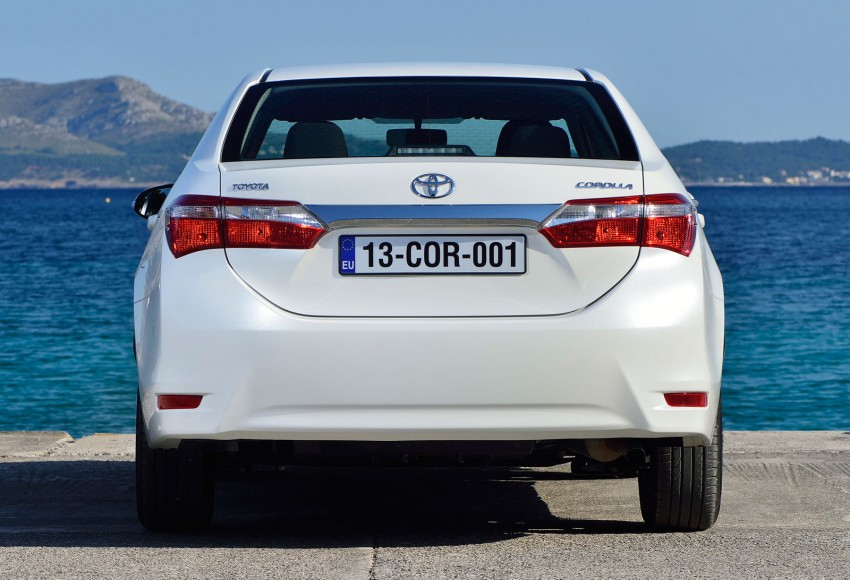 2014 Toyota Corolla – European production starts in Turkey, new batch of images released Image #185823