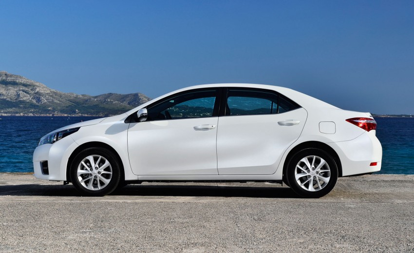 2014 Toyota Corolla – European production starts in Turkey, new batch of images released Image #185824