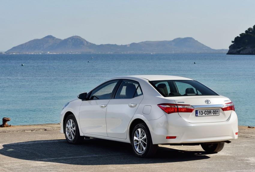2014 Toyota Corolla – European production starts in Turkey, new batch of images released Image #185825
